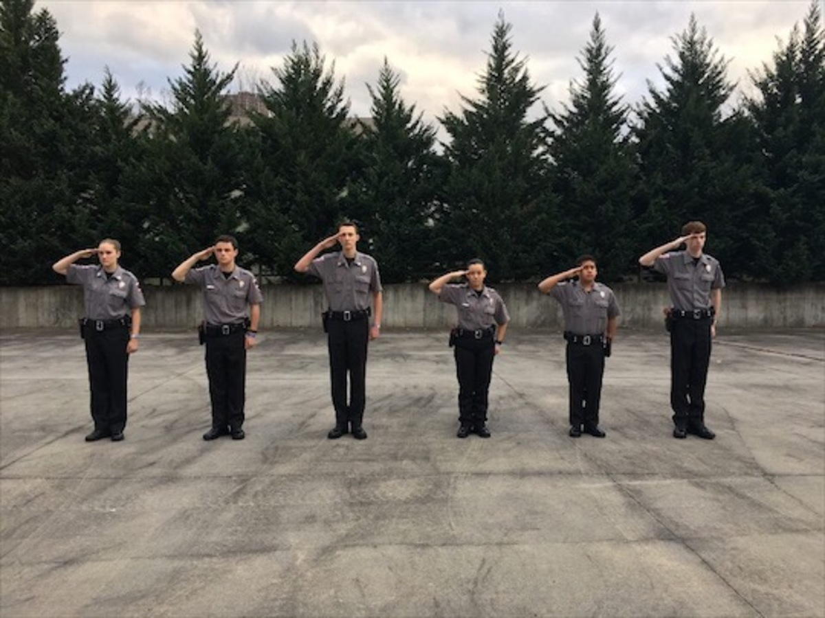 Students Learn How to Be a Police Officer in Milton Explorer Program