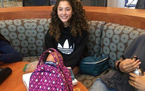 Sophomore Noor El-Gazairly