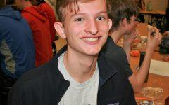 Freshman Justin Doering