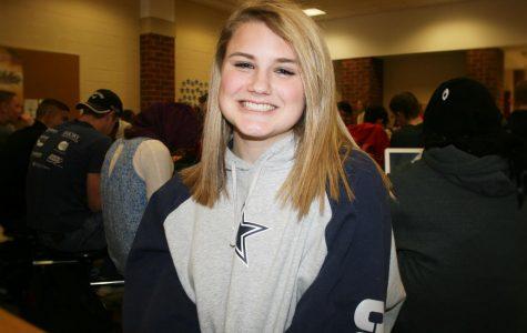 Freshman Jessica Clark