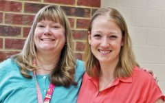 Science teacher Gretchen Martin and Social Studies teacher Lauren Hall