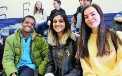 Junior Mekai Kamara and Sophomores Tanvi Bhavsar and Olivia Sanford