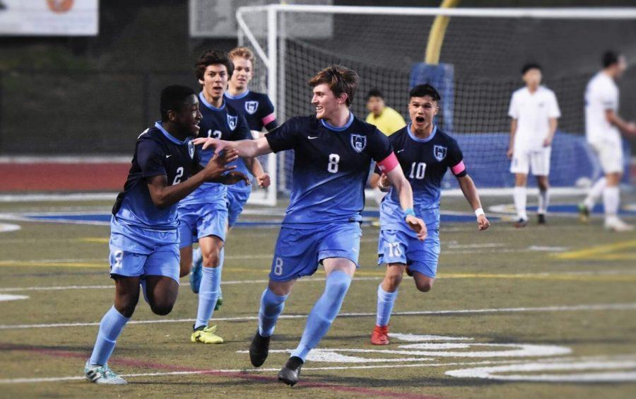 Bending It Like Beckham: Boys' Varsity Soccer Recap Their Season of Success
