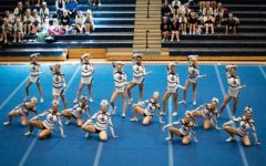 Varsity Cheer Place 3rd at Regionals