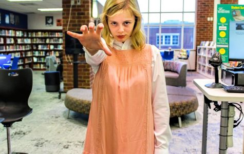 "Junior Elise Pelletier as Eleven from ""Stranger Things"""