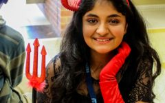 Freshman Ambuja Sharma as the Devil