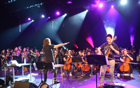 "Orchestra Goes Rock for Mark Wood's ""Discovery Tour"""