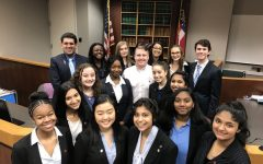 Mock Trial Team Places Second at Region Competition, Moves on to District