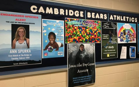 Marketing Students Bring Hype to Cambridge Athletics