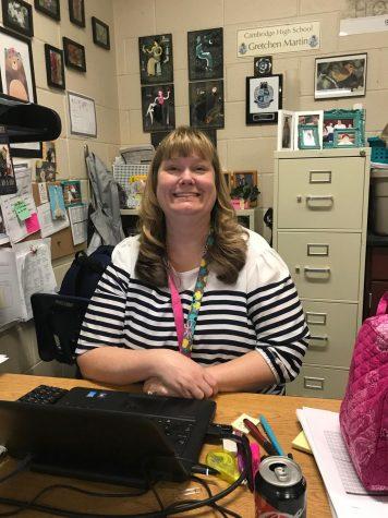 Science teacher Gretchen Martin