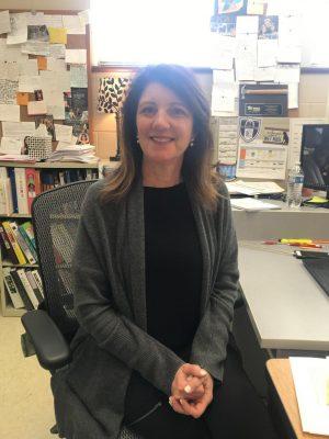 Spanish teacher Catherine Rowland
