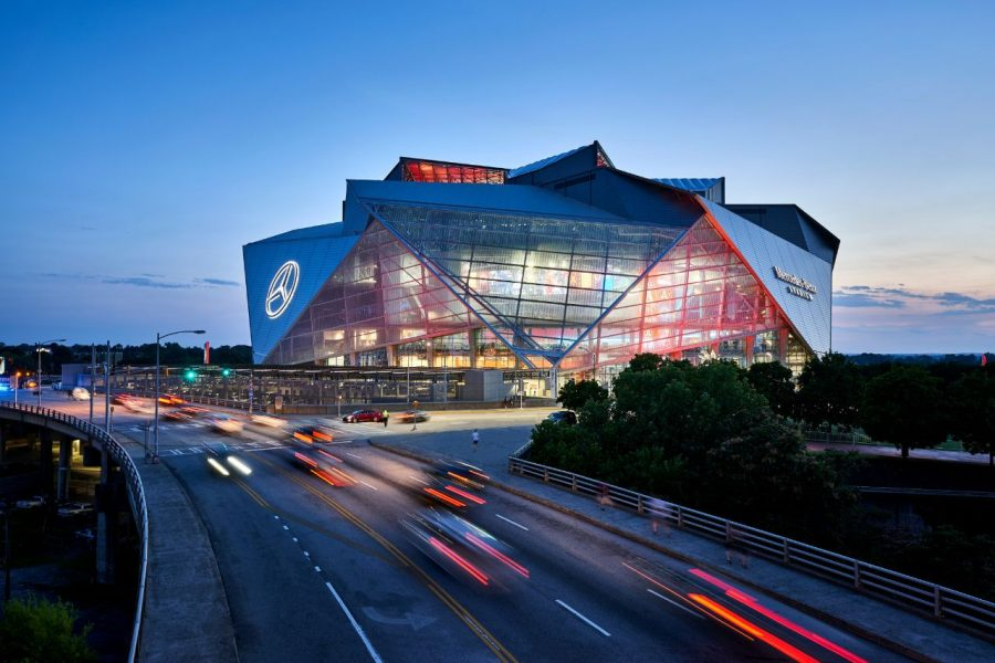 Prom+will+be+held+at+the+Mercedes+Benz+stadium.