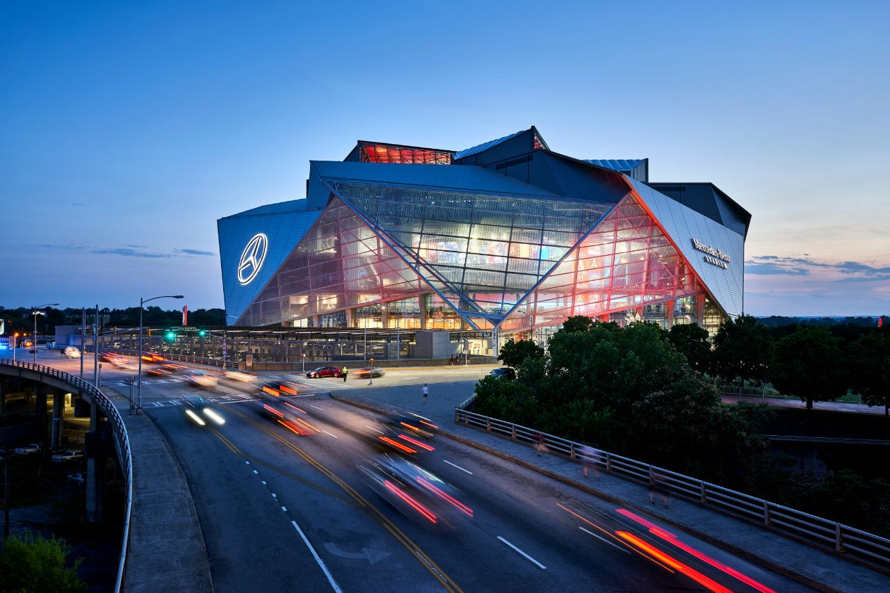 Prom will be held at the Mercedes Benz stadium.
