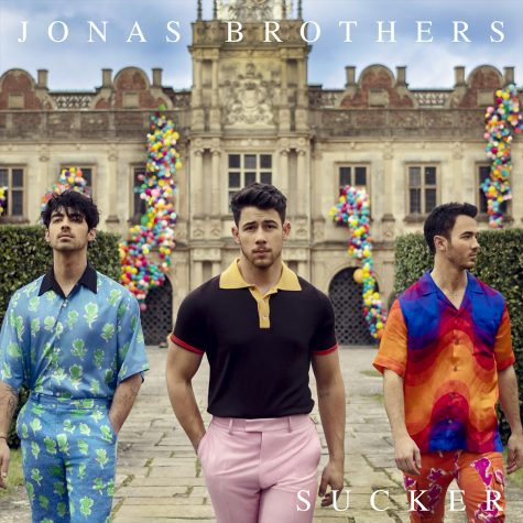 "The cover to ""Sucker,"" the Jonas Brothers"