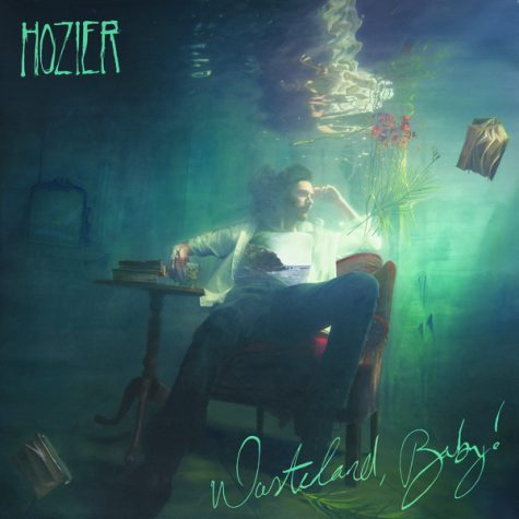 The cover of the album Wasteland, Baby! The art is an oil painting by Hozier