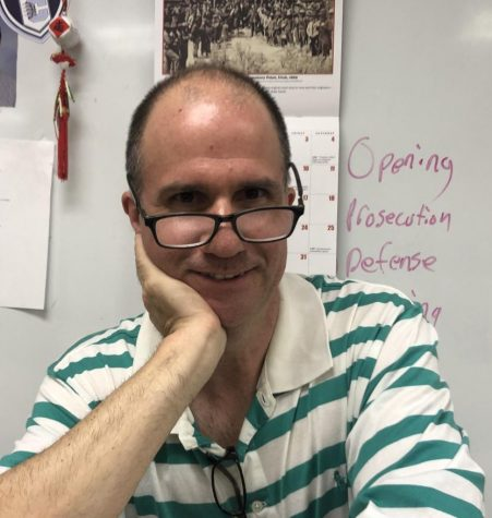 Randy Gingrich, AP Language and Composition teacher.