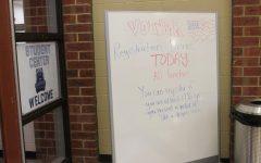 School's Student Center Hosts Voter Registration Drive, Encourages Civic Participation