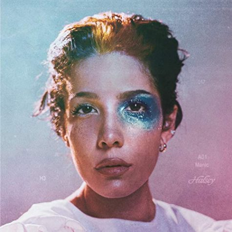 "The album cover for ""Manic,"" Halsey"