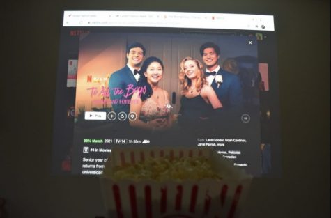"""Popcorn in tow, I was ready to begin watching """"To All the Boys 3: Always and Forever."""""""