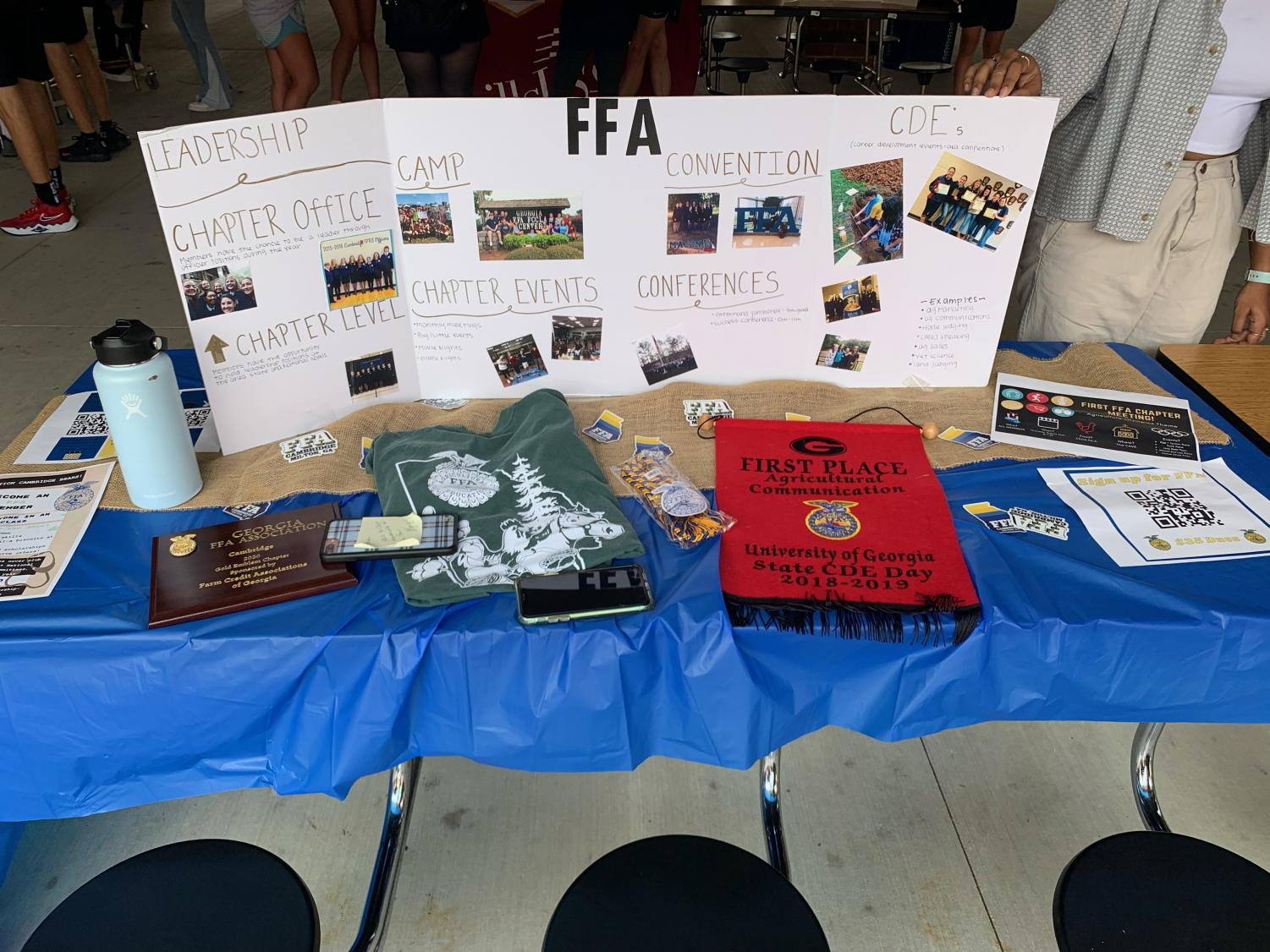 A Candy-less Club Fair: Selling Clubs Without the Sweets